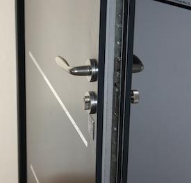 porte ouverte par le serrurier
